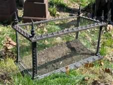 Attributed Fiske Cast Iron Terrarium