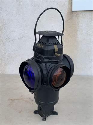 Adlake Western Maryland Railroad Signal Lantern