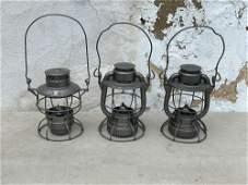 Three Railroad Lantern Frames