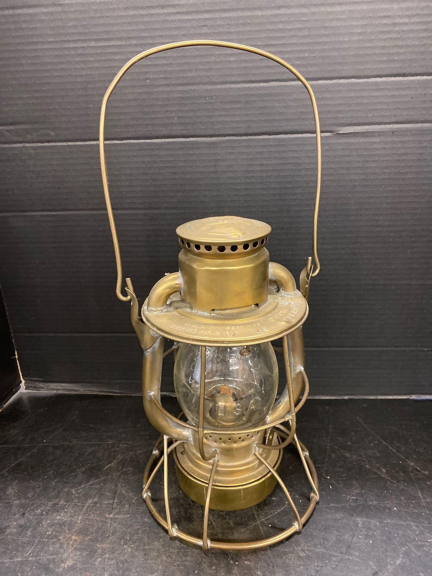 Brass Dietz Navy Deck Lantern