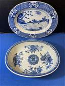 Chinese Export Platter and Serving Bowl