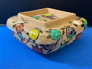 Ogata Kenzan-style Ceramic Box