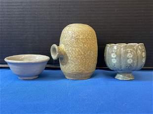 Three Korean Pottery Articles