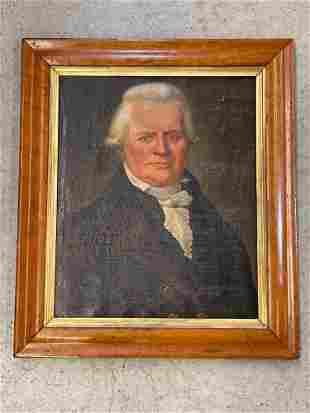 Circa 1812 Oil/Canvas, Portrait of a Gentleman