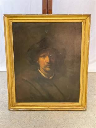 Oil/Canvas, Portrait of a Gentleman