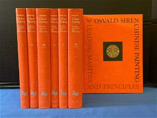 7 Volumes of Chinese Painting by Osvald Siren