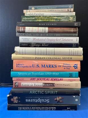 Eighteen Reference Volumes: Art, etc.
