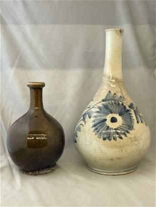 Two Korean Porcelain Vases