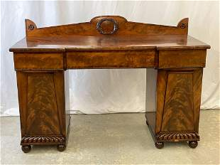 Regency Mahogany Sideboard Cabinet