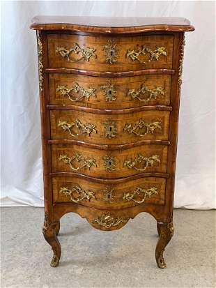 Louis XV-style Ormolu-mounted Lingerie Chest