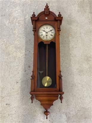Waterbury Regulator Wall Clock