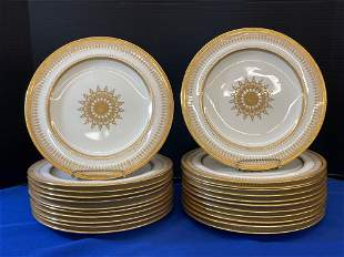 23 Brownfields for Tiffany Porcelain Plates