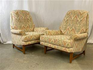Pair of Midcentury Modern Lounge Chairs