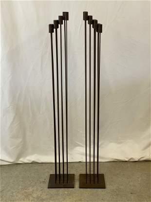 Pair of Bertoia-style Sound Sculptures