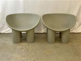 Pair of Modern Design Roly Poly Chairs