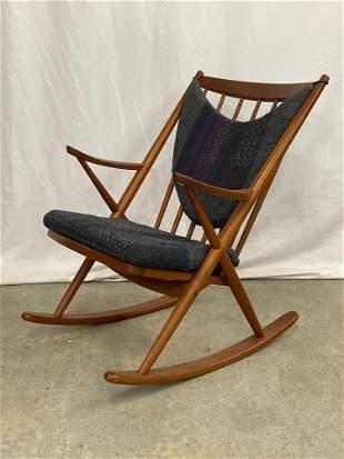 Danish Teak Rocking Chair