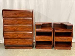 Brouer Danish Rosewood Four-iece Bedroom Suite