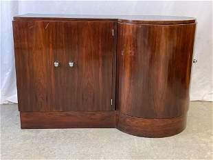 Midcentury Modern Rosewood Bar Cabinet