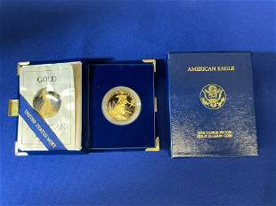 1989 American Eagle $50 Gold Coin