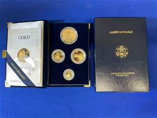 1991 American Eagle Gold Bullion Proof Set
