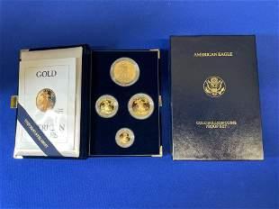 1992 American Eagle Gold Bullion Proof Set