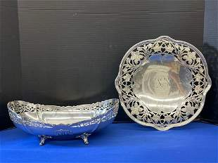 Two Sterling Silver Service Articles