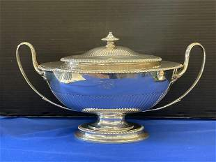 English Sterling Silver Tureen
