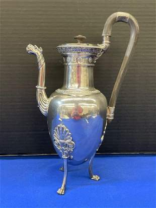 French Silver Coffee Pot