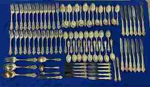 Gorham Medici Sterling Flatware Set