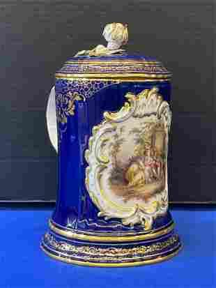 Meissen Porcelain Tankard