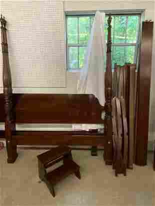 Ethan Allen Queen-size Canopy Bed