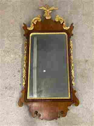 19th C. Federal Eagle Wall Mirror