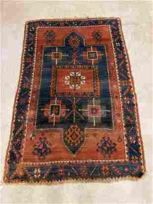 Caucasian Area Carpet, 6ft 5in x 4ft 3in