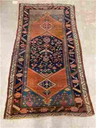 Caucasian Area Carpet, 7ft 2in x 3ft 11in