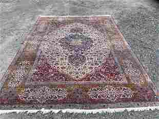 Persian Kirman Rm-sz Carpet, 11ft 10in x 8ft 9in