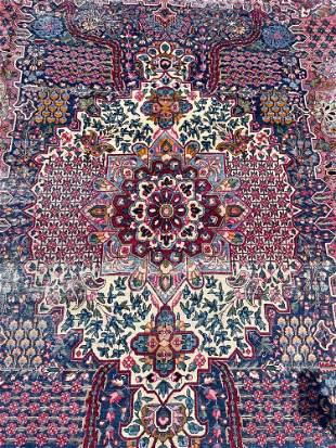 Persian Kirman Room-size Carpet, 12ft x 8ft 9in