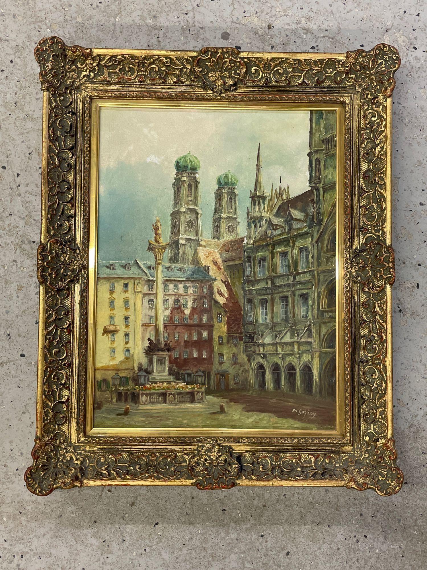 German School Oil on Canvas, Landscape