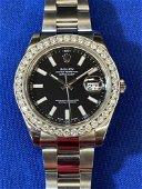 Rolex Datejust II Black Dial Watch