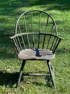New England Painted Windsor Armchair