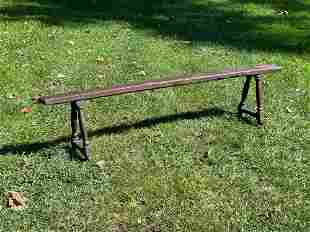 Cherry Narrow Bench or Form