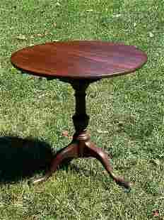 Queen Anne Walnut Tilt-top Tea Table