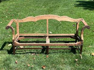18th C. Chippendale Sofa Frame