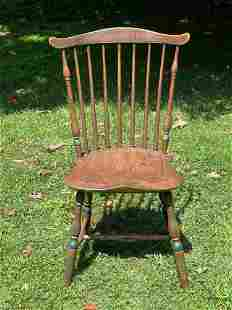 Lancaster Co. Paint-decorated Windsor Side Chair