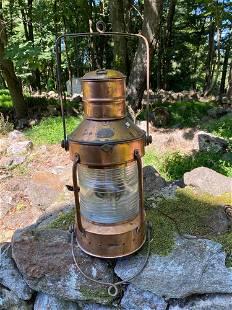Copper Ships Lantern