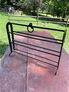 Wrought Iron Apple Roaster