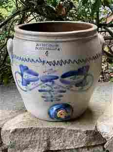H. Weston Stoneware Water Cooler