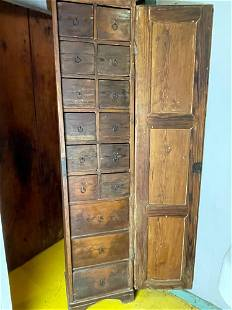 American Pine Apothecary Cabinet