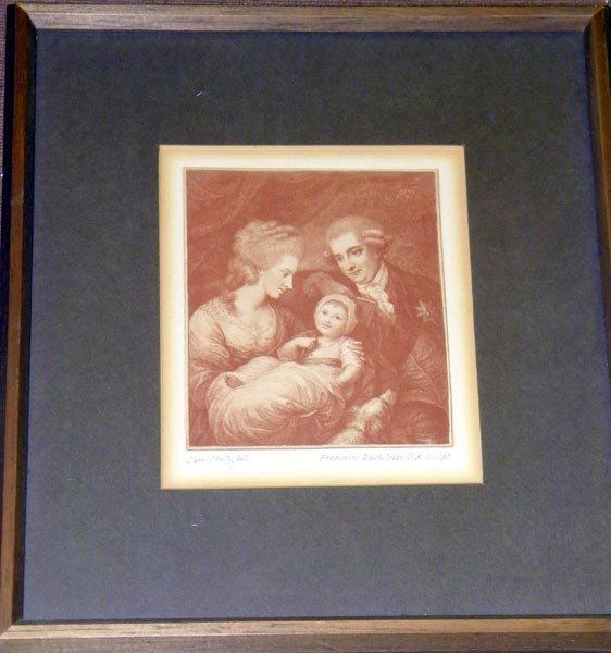 5: Francesco Bartolozzi, Engraving.