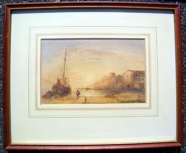 6: John Lucas, Watercolor.