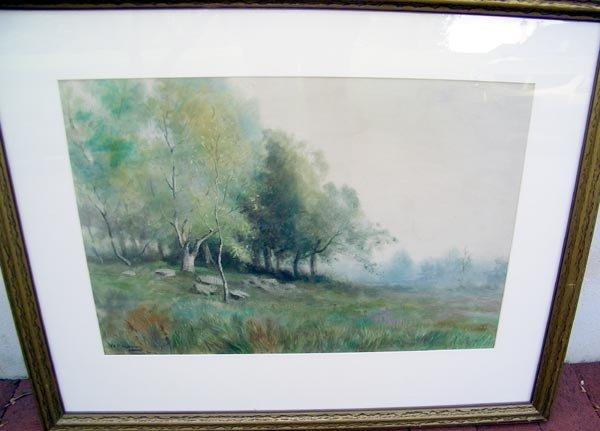 15: William Cushing Loring, Watercolor.